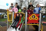 Dursley's new playground to prove a big hit for the town's children over summer